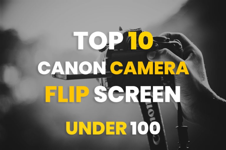 Canon Camera with Flip Screen