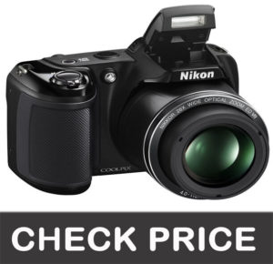 Nikon Coolpix L340 20.2 Megapixel Digital Camera