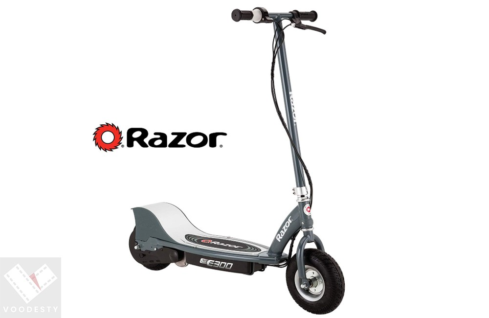 Razor E300 Electric 24 Volt Rechargeable Motorized Ride On Kids Scooter