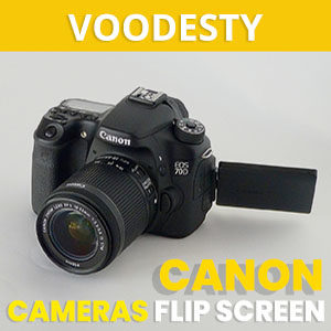 best canon flip screen camera