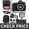 Canon EOS 5D Mark IV DSLR Body Log