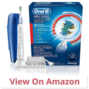 Oral-B Pro 5000 Smartseries - best toothbrush for braces