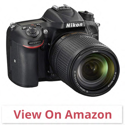 Nikon D7200 DX-format - best camera for wildlife photography