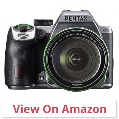 Pentax K-70 - best camera for wildlife photography 2020