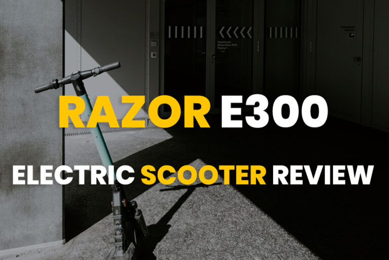 Razor E300 Electric Scooter Review 2020