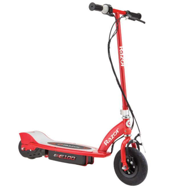 Electric Scooters are the most favorite ride for kids and adults. Despite of the fact, which scooters are good to ride but it's difficult to find perfect match for kids. The scooter that looks elegant, speedy, portable and easy to maintain for every age group. Razor E100 Electric Scooter is the best choice according to your need with affordable price range. This scooter comes with different colors and all of them are elegant and attractive. Razor is one of the well-known electric scooter manufacturer's in motor industry. For further in-depth, you have to read complete Razor E100 Electric Scooter Review.