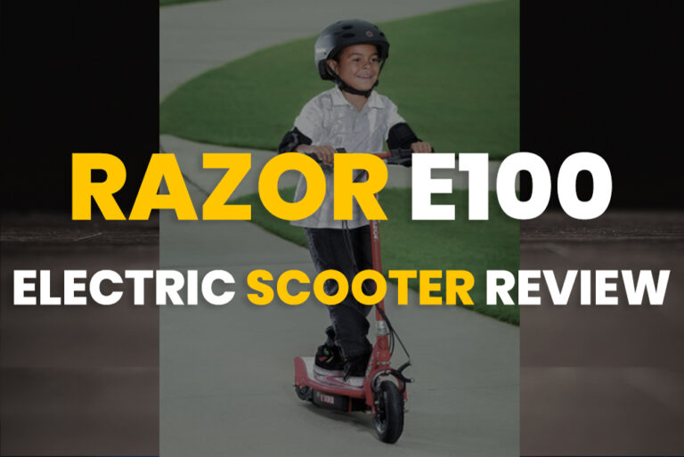 Razor E100 Electric Scooter Review 2020
