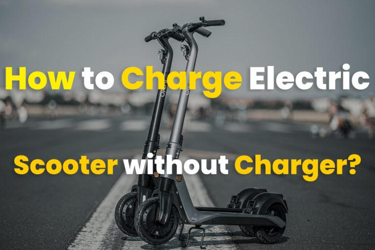 How to Charge Electric Scooter without Charger?