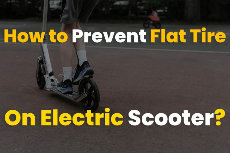 How to Prevent Flat Tire On Electric Scooter?