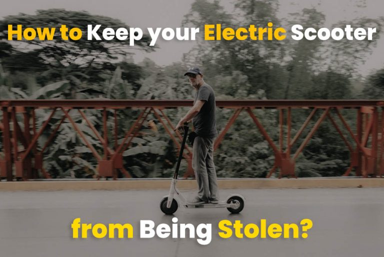 How to Keep your Electric Scooter from Being Stolen