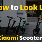 how to lock up xiaomi scooter