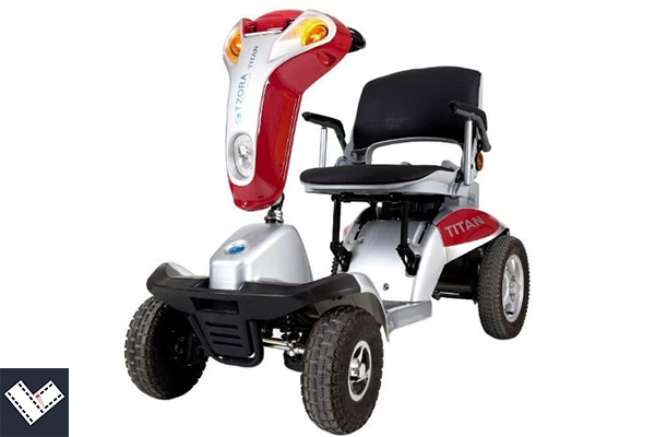Hummer XL Folding all terrain mobility scooter