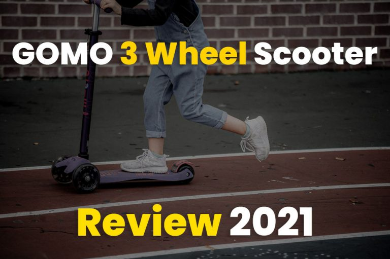 GOMO 3 Wheel Scooter Review 2021