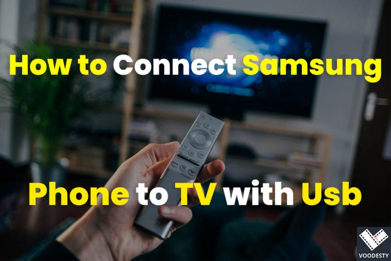 How to Connect Samsung Phone to TV with Usb